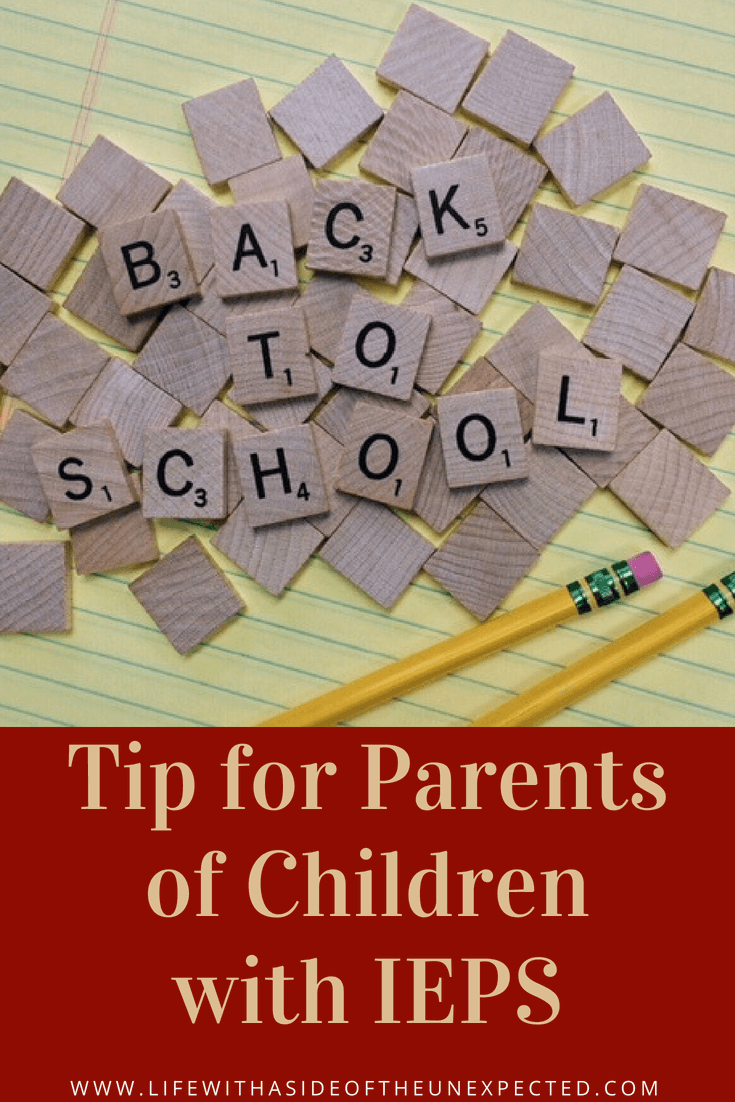 Iep Tips For Parents >> Back To School Tips For Students With Ieps Life With A Side Of The